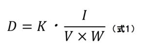 線量概算式